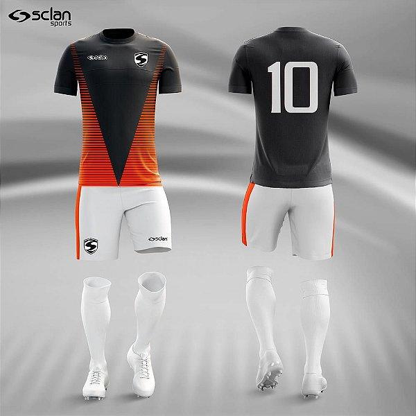 Jogo Camisa Futebol Ouro ss77