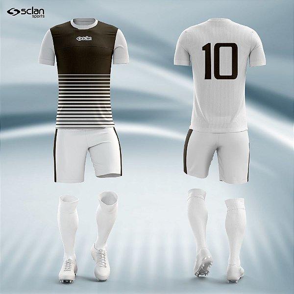 Jogo Camisa Futebol Cromo ss27