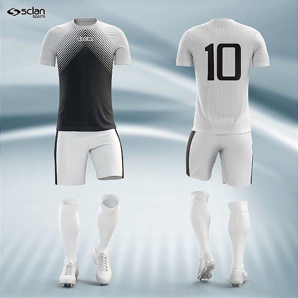 Jogo Camisa Futebol Cromo ss28