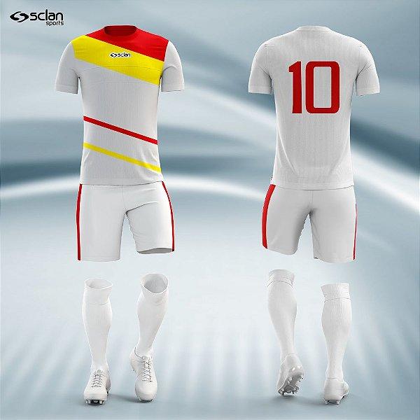 Jogo Camisa Futebol Cromo ss29