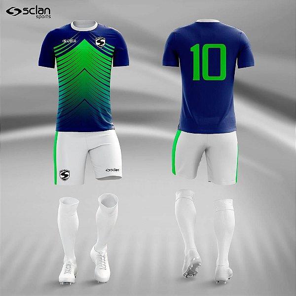 Jogo Uniforme Esportivo Camisa Short 3842d5d03333e
