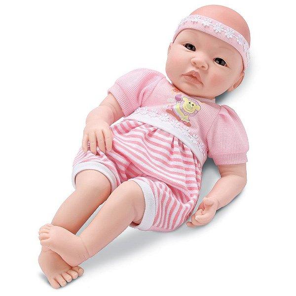 Boneca Bebê Tata Chora e Balbucia - SidNYL