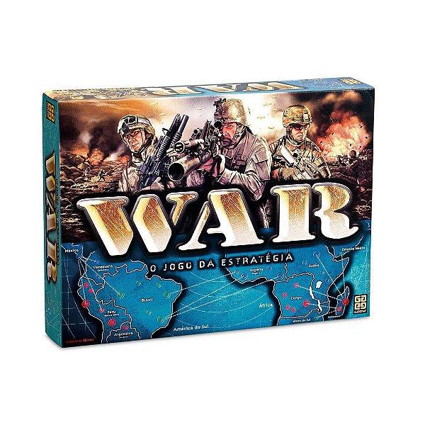 Jogo War - Jogo Clássico De Estratégia - Grow