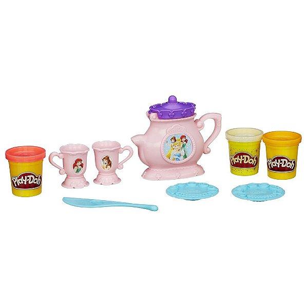 Play Doh Princesas Conjunto De Chá Massinha Hasbro - B1861
