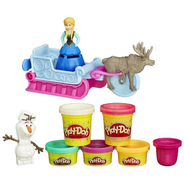 Play Doh Aventura de Trenó Disney Frozen Hasbro