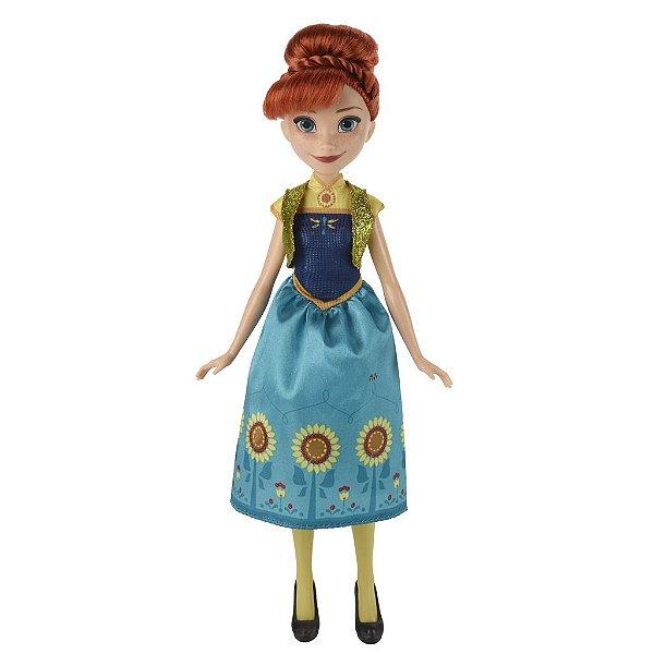 Boneca Anna Febre Congelante Princesas Da Disney Frozen - Hasbro