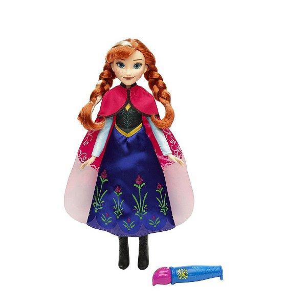 Vestido Mágico Da Anna Disney Frozen - Hasbro