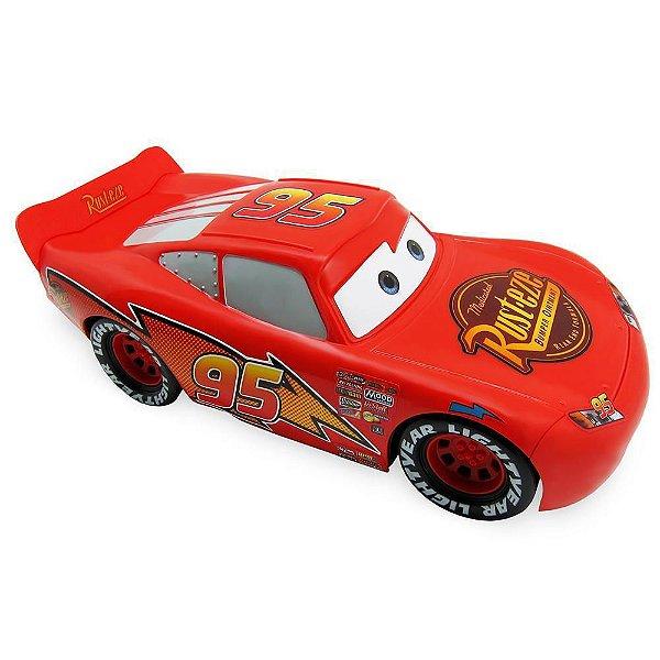 Carros McQueen Roda Livre Relâmpago Classic Carros Disney - 35 cm