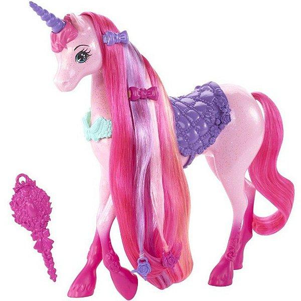 Unicórnio Barbie Reino Dos Penteados Mágicos - Mattel