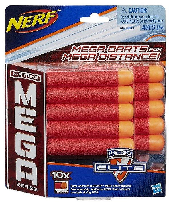 Nerf N-Strike Mega Dardos com 10 unidades