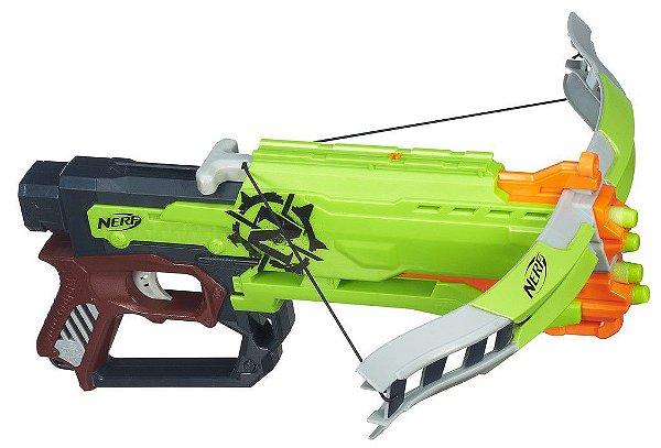 Lançador Nerf Zombie Strike Crossfire Bow - Hasbro