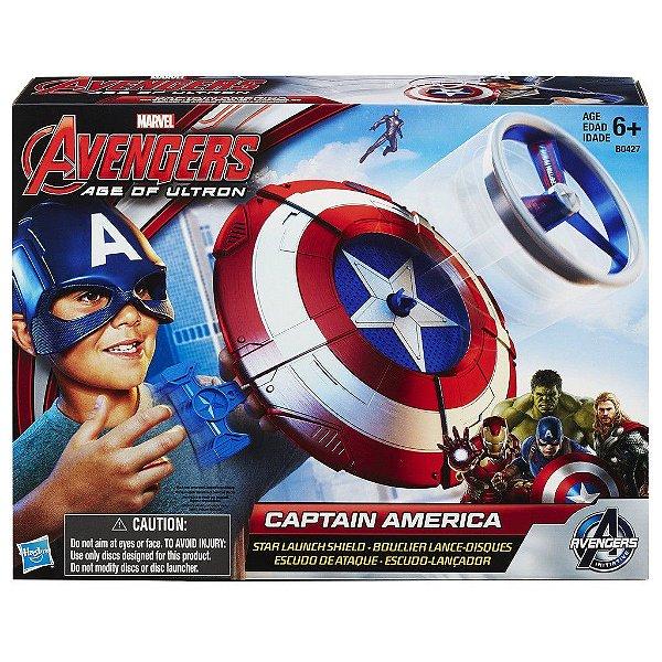Escudo Lançador Capitão América Avengers Vingadores