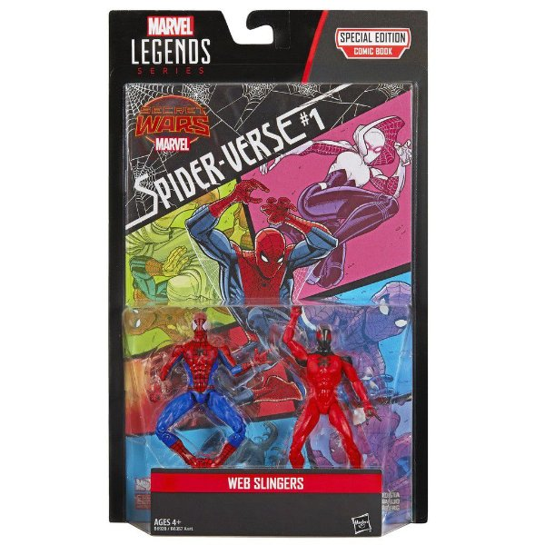 Marvel Legends Comic Book Special Edition Web Slingers - Hasbro