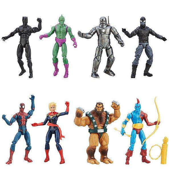 "Kit Completo Marvel Legends Series 3.75"" - Hasbro"