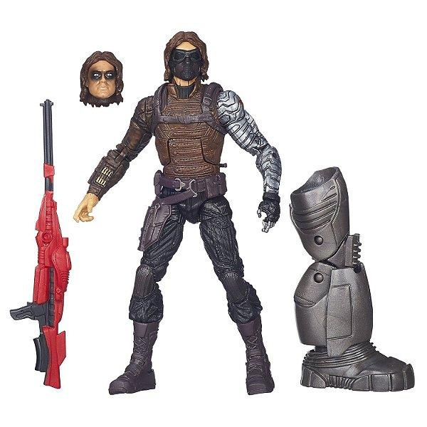 Boneco Winter Soldier Captain America Legends Infinite - Hasbro