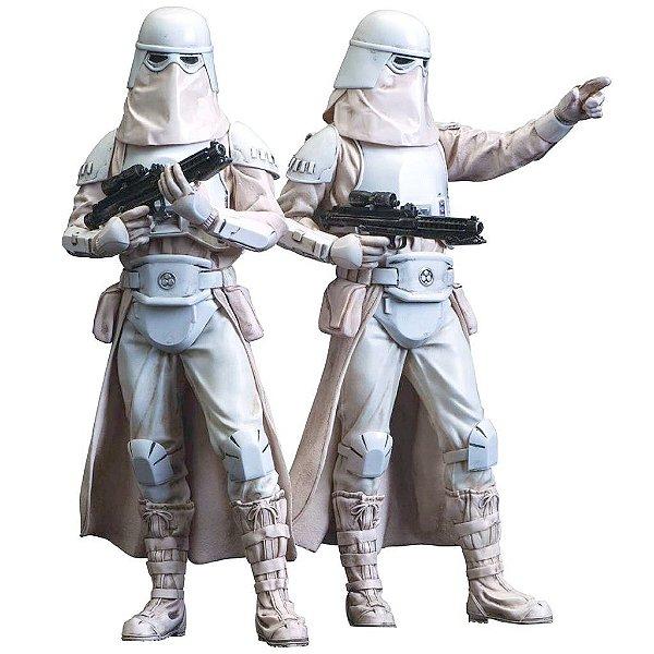 Snowtroopers Two Pack Star Wars - Kotobukiya ARTFX+ Statue