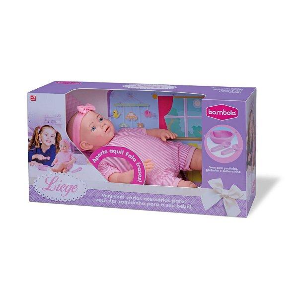 Boneca Liege Papinha - Bambola