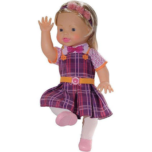 Boneca Dulce Maria Carinha de Anjo SBT 40 cm Baby Brink