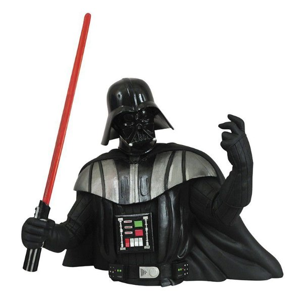 Darth Vader Star Wars Bust Bank Cofre Diamond Select Toys