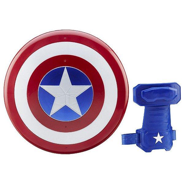Luva e Escudo Capitão América Guerra Civil Marvel - Hasbro