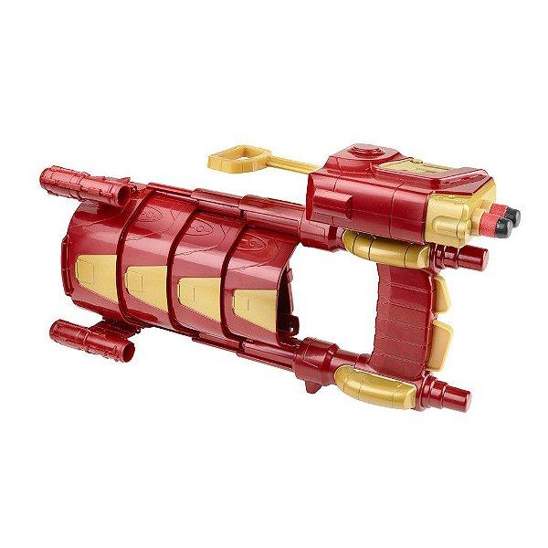 Lançador Nerf Armadura de Braço Homem de Ferro Capitão América Guerra Civil - Hasbro