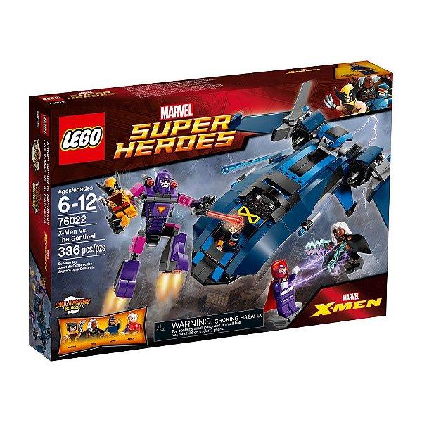 Lego X-Men Vs. The Sentinel Marvel 336Pcs