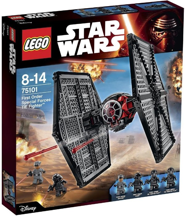Lego First Order Special Forces Tie Fighter Star Wars 517pcs