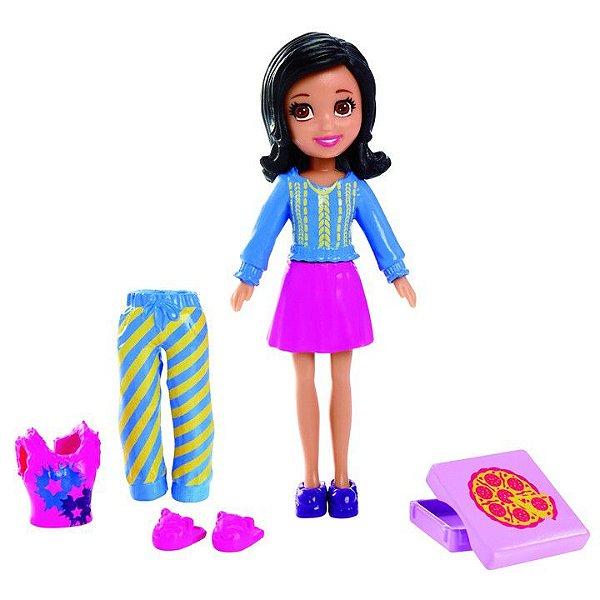 Boneca Polly Pocket Casa Divertida Crissy - Mattel