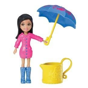Boneca Polly Pocket Chuva E Sol Crissy - Mattel