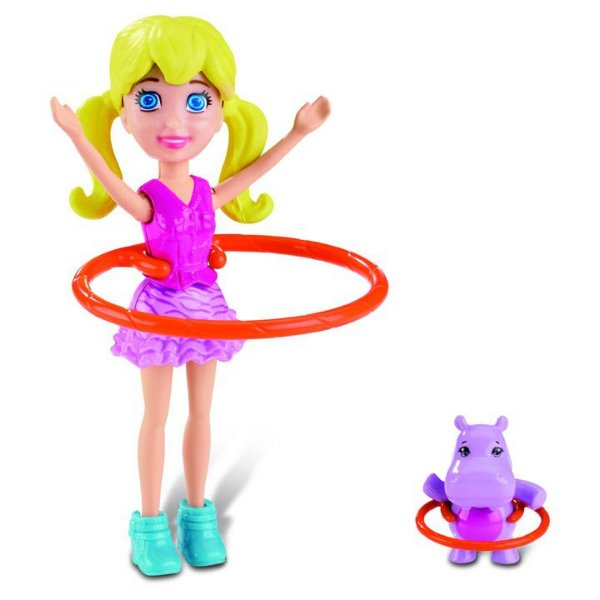 Boneca Polly Pocket Safari Bambolê Polly - Mattel
