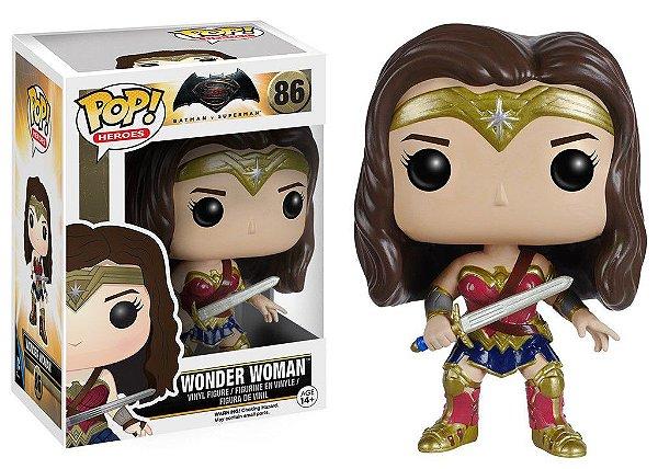 Batman V Superman - Wonder Woman Mulher Maravilha Funko Pop! Vinyl