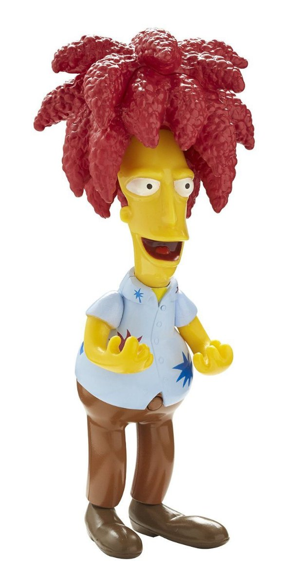 The Simpsons Sideshow Bob Talking Figure 25 Years Multikids