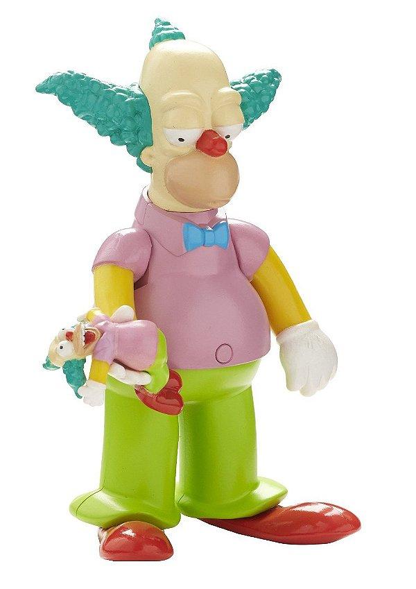 The Simpsons Palhaço Krusty Talking Figure 25 Years Multikids