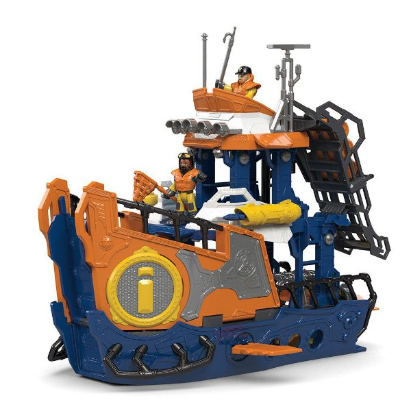 Imaginext Navio Comando do Mar - Oceano - Mattel - Fisher Price
