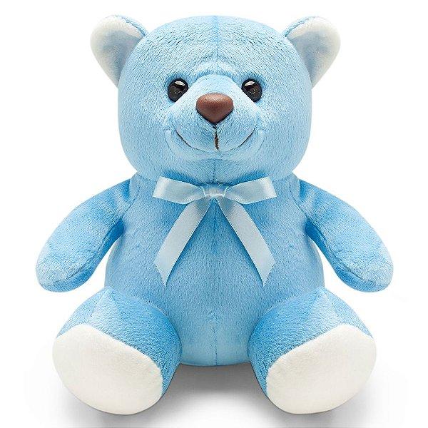 Urso de Pelúcia Azul 20cm