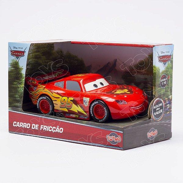 Relâmpago Mcqueen Piston Cup Fricção Carros Disney
