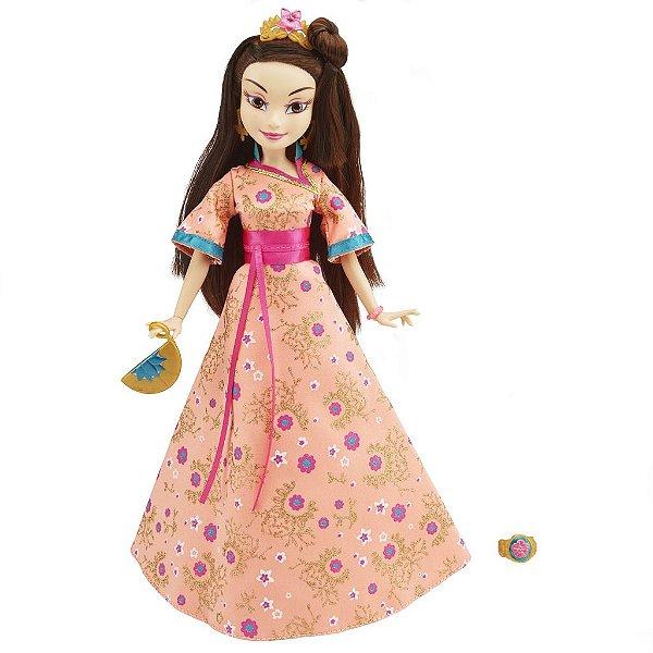 Boneca Descendants Coroação Lonnie Filha Da Mulan - Disney