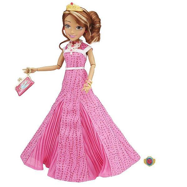 Boneca Descendants Coroação Audrey Filha Da Bela Adormecida - Disney
