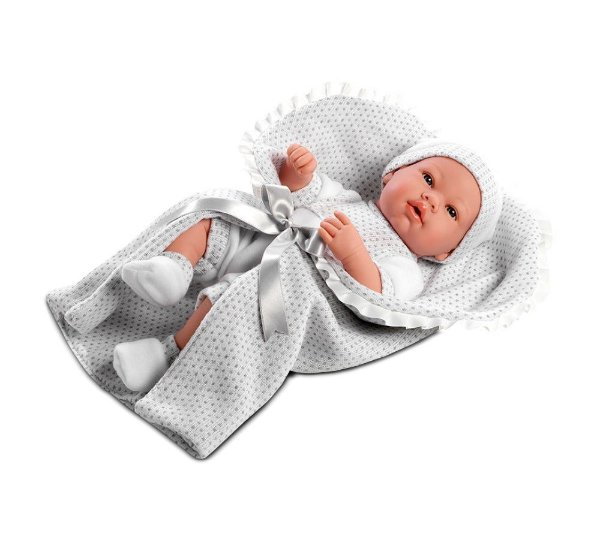 Bebê Reborn Baby Paul Elegance  - Baby Brink