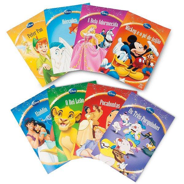Box 8 Livros Contos Disney
