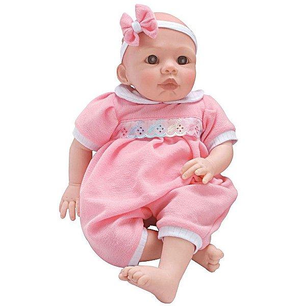 Boneca Bebê Baby Lu Chora e Balbucia - Sid-Nyl