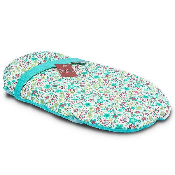 Saco de Dormir e Bolsa de Passeio Floral Para Bonecas 46cm American Girl Our Generation - Varandarte