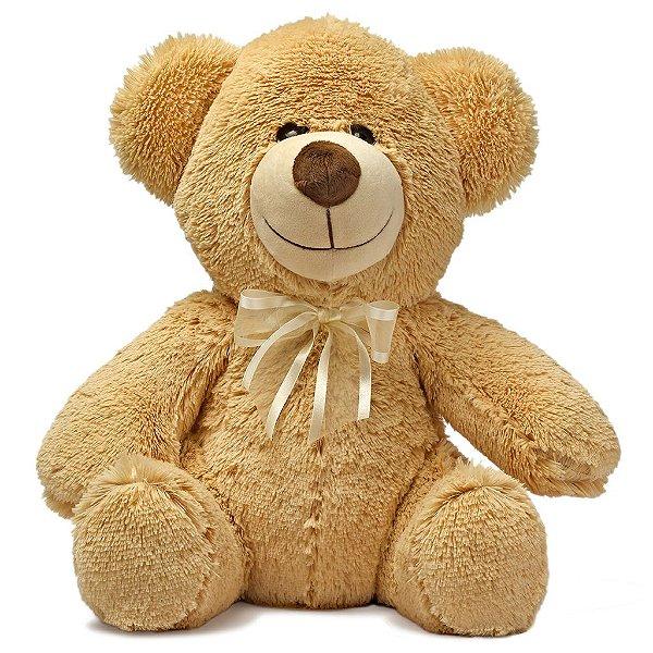 Urso de Pelúcia Paixão Caramelo 45cm