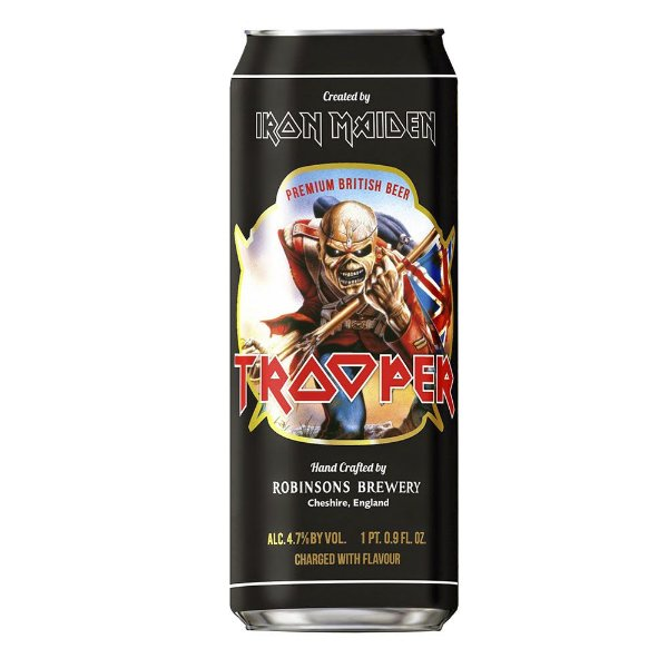Cerveja Iron Maiden – Trooper