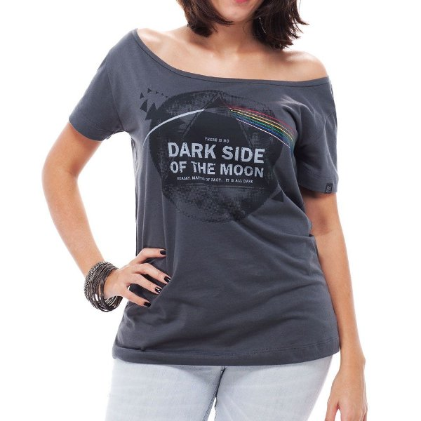 Camiseta Feminina No Dark Side
