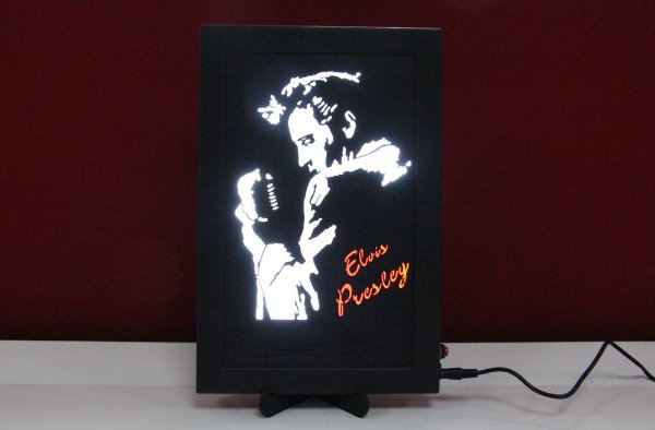 Luminoso Decorativo Elvis Presley