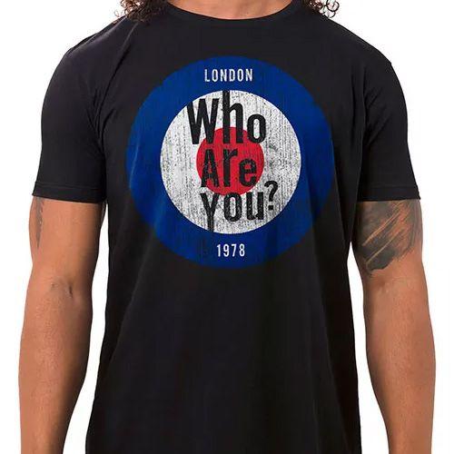 Camiseta Masculina Who Are You
