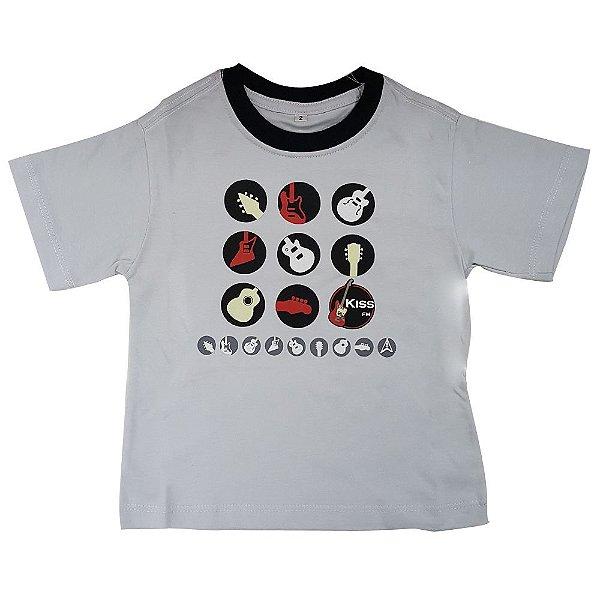 "Camiseta Infantil ""Guitarrinhas"""