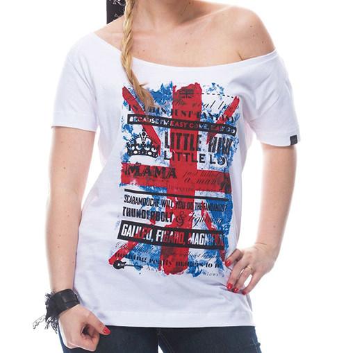 Camiseta Feminina Bohemian Rhapsody Branca