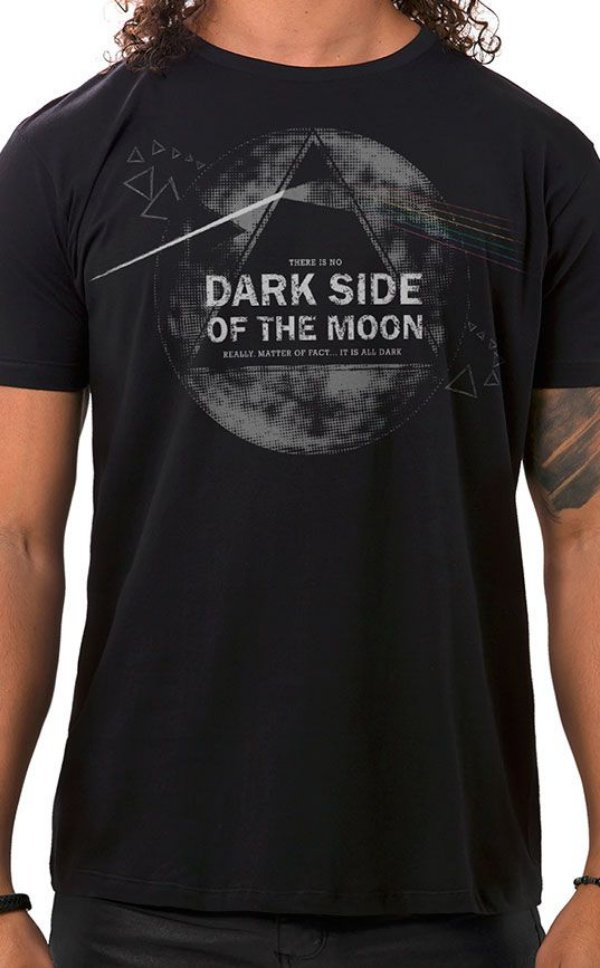 Camiseta Masculina Dark Side Preto